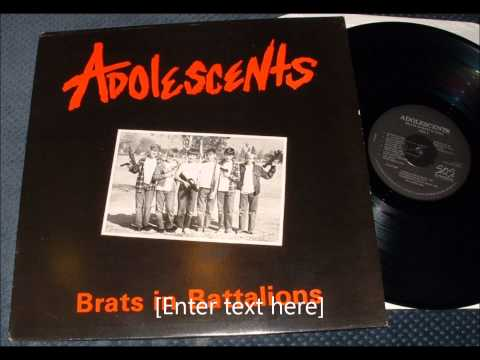 Adolescents - Marching With The Reich