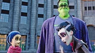 Monster Family new clip: Family at the London Eye with Cheyenna and Baba Yaga