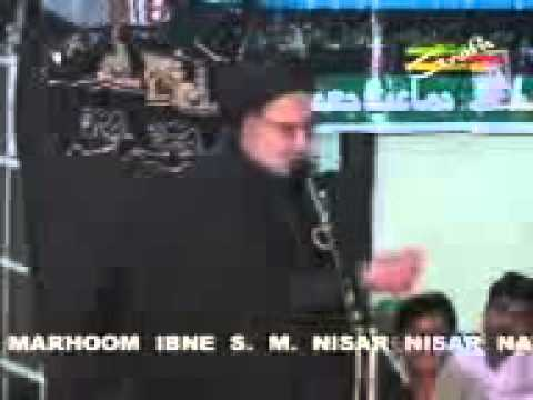 Majlis In Lucknow On August 22, 2013 By Maulana Agha Roohi video