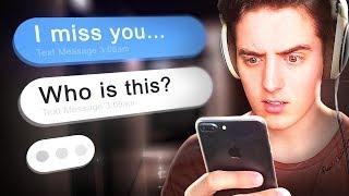 Creepy texts from my ex...