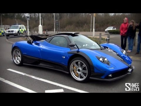 Pagani Zonda PS '760' - Startup, Rev and Driving
