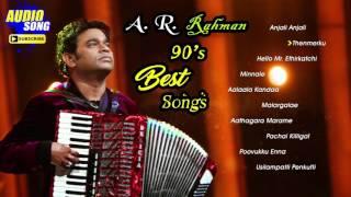 AR Rahman 90's Tamil Hit Songs | Audio Jukebox | AR Rahman Non Stop Tamil Songs | Music Master
