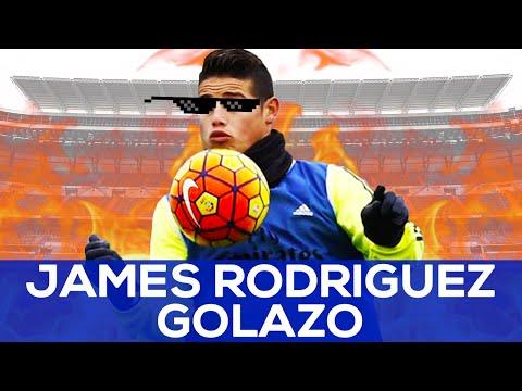 James Rodriguez GOLAZO ⚽️🔥🚀 | REAL MADRID NEWS