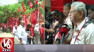Sitaram Yechury Re-Elected As CPM General Secretary