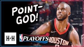 Chris Paul Full Game 2 Highlights Rockets vs Timberwolves 2018 Playoffs - 27 Pts, 8 Assists, BEAST!