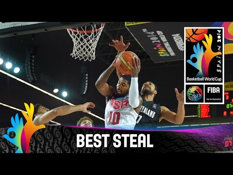 USA v New Zealand - Best Steal - 2014 FIBA Basketball World Cup