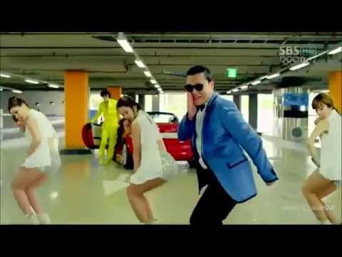 musik gangnam style