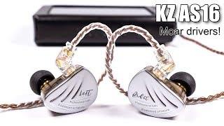 KZ AS16 earphones review