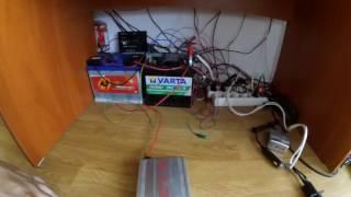 Szigetüzemű napelemes rendszerem/Off grid solar system
