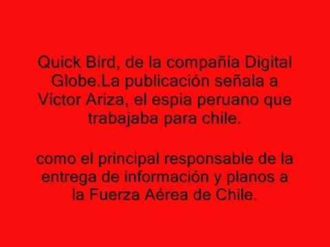 CHILE BOMBARDEA BASE PERUANA LA JOYA (AREQUIPA)