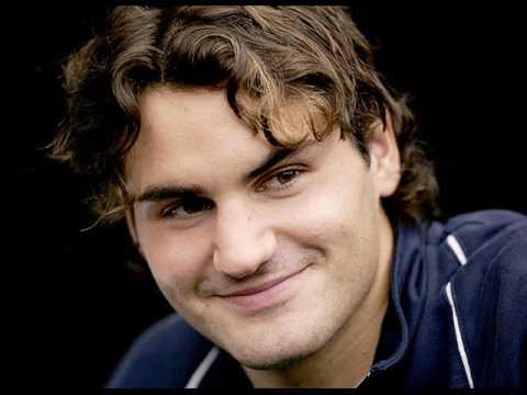 Roger Federer's Gorgeous Smile