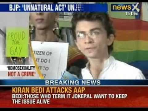 Newsx: Gay Sex Verdict - Rajnath Singh Says Bjp Cannot Justify 'unnatural Acts' video