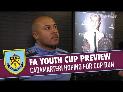 Danny Cadamarteri previews the U18s FA Youth Cup tie with Plymouth Argyle. Sign up to Clarets Player and get... � Live Commentary � Match Replays & Highlights � Exclusive Interviews...
