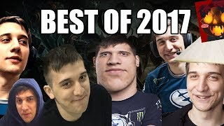 Arteezy - BEST MOMENTS OF 2017 - FUNNY | EPIC | BABYRAGE