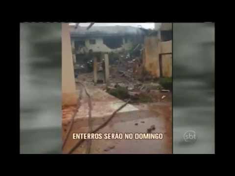 IML libera restos mortais das vítimas na queda do jato de Eduardo Campos