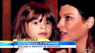 Linda Evangelista Fights for Son in Court; Requests $46,000/Month for Child Support