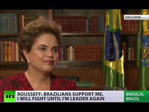 'Coup by those who lost elections': First Rousseff interview since impeachment (RT EXCLUSIVE)