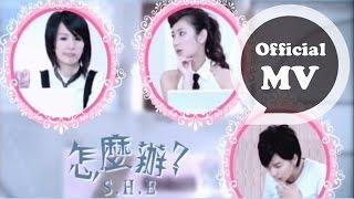 S.H.E [怎麼辦 What to do ] Official Music Video (偶像劇「花樣少男少女」片頭曲)