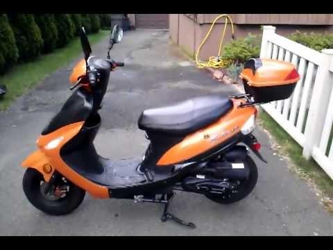 2012 Tao Tao 50cc scooter