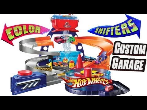 Color Changers Ultimate Custom Garage Shop Playset