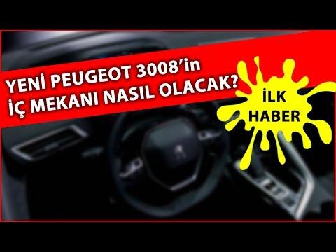 Yeni Peugeot 3008'in iç mekanı nasıl olacak?