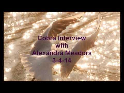 140304 Cobra Interview with Alexandra Meadors