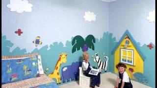 Wall Murals For Kids | Kid's Room Murals Ideas