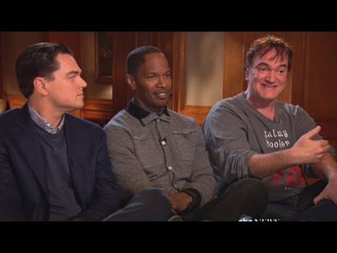 django unchained tarrantino dicaprio talk movie s controversy