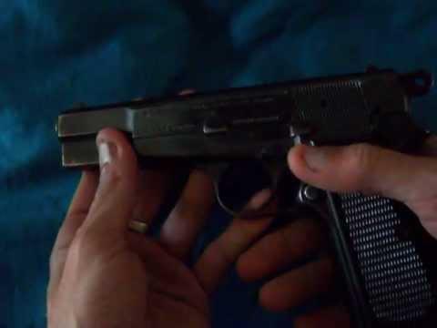 Desarme y Armado de Pistola Browning 9mm