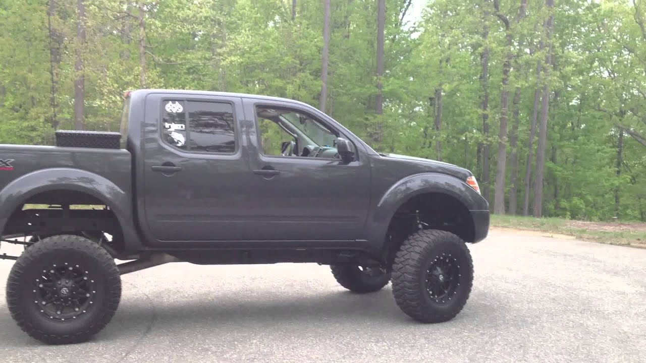 2011 Nissan Frontier Lifted Youtube