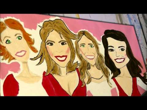 Sex and the City Time Lapse Painting by Francesca Bessett