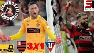 Flamengo 3x1 LDU! Filme do Jogo! Todos os gols e lances vistos da arquibancada! Copa Libertadores!