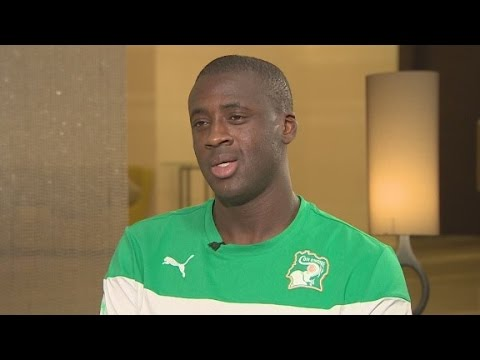 Yaya Toure on his Man City future