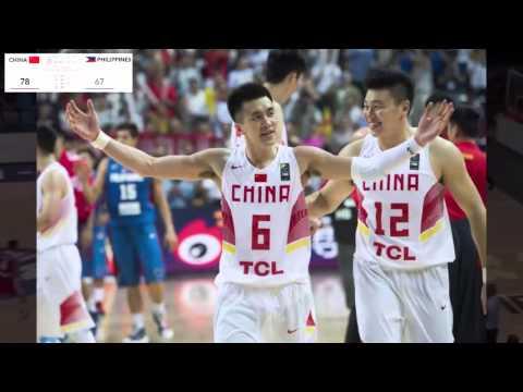 Gilas Pilipinas - Philippines vs China Highlights - Finals 2015 FIBA Asia Championship