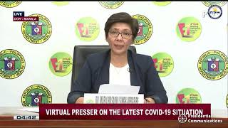 Department of Health updates on coronavirus in the Philippines | Tuesday, June 2