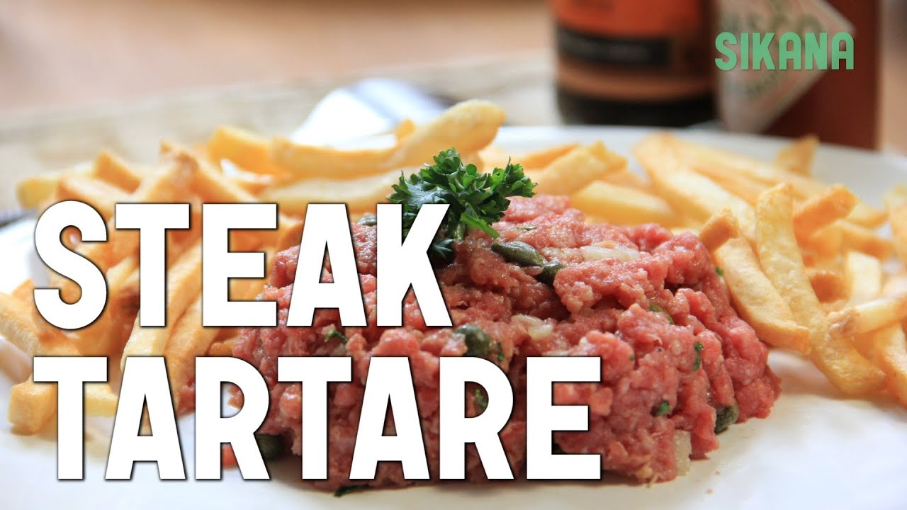 le steak tartare de boeuf 2 recettes simples et inratables hd youtube. Black Bedroom Furniture Sets. Home Design Ideas
