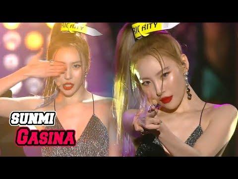 [Korean Music Wave]  SUNMI - Gashina, 선미 - 가시나,  DMC Festival 2018