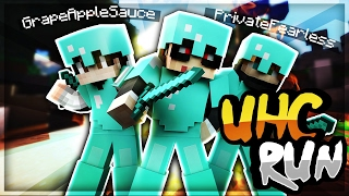 COUNTER COMBO TO WIN THE GAME! - Minecraft UHC Run