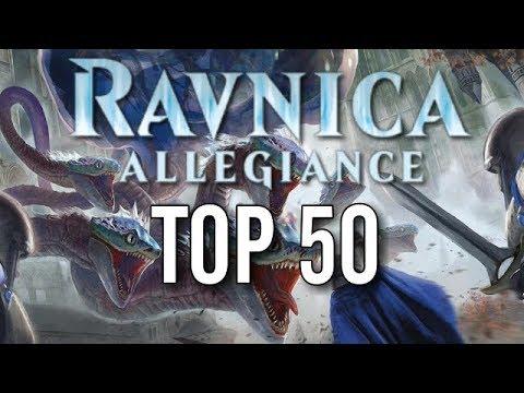 Mtg Top 50 Ravnica Allegiance Cards!