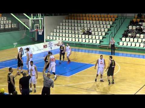 MBK SPU Nitra - BK Inter Incheba Bratislava (32. kolo Eurovia SBL)