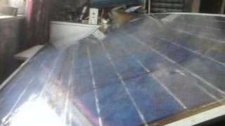 2013 Super cheap EVA alternative DIY solar panel encapsulation  pt1/2 (proof test in pt2)