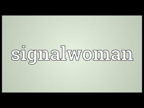 Header of Signalwoman