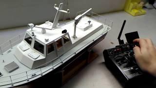 RC model sound modul - ModulTTR_1 / Policejní člun