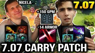 Arteezy VS Sumail - 7.07 Patch Is For Carry Dota 2 Dueling Fates