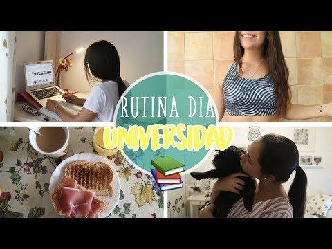 RUTINA EN UN DÍA DE UNIVERSIDAD | Paula Díaz