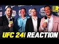 UFC 241 Post-Fight Reaction