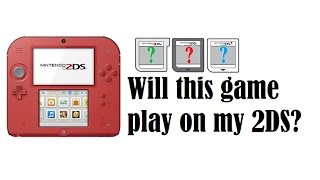 Will This Game Play On My 2DS?