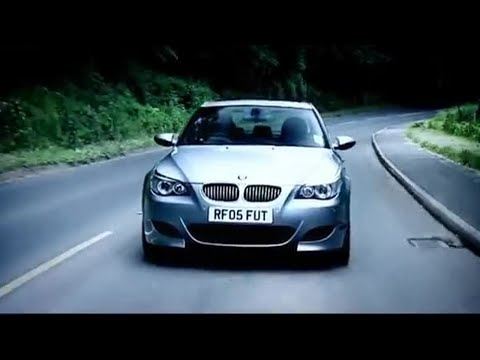 BMW M5 Road Test Part 1 - Top Gear - BBC