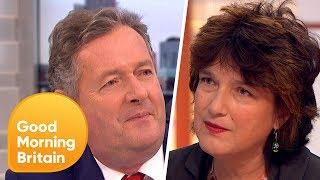 Piers Morgan Challenges Professor Calling for Contact Sport Ban in Schools   Good Morning Britain