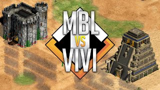 ⚔️ AoE2 Capture Age! | MBL vs Vivi Expert Showmatch [Play all 7 - $280]